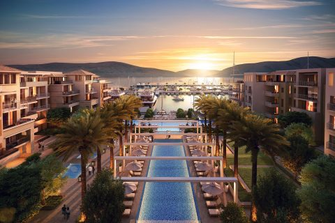 "Hotel ""Regent Porto Montenegro"" in Tivat – Montenegro"