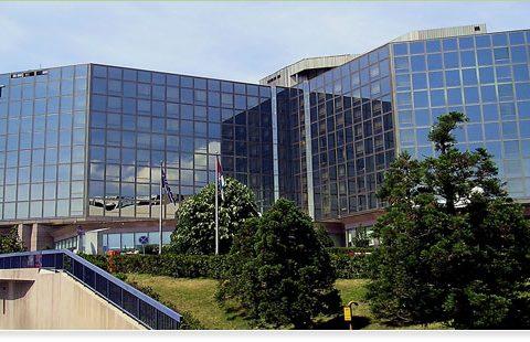 "Hotel ""Hyatt Regency"" in Belgrad – Serbien"
