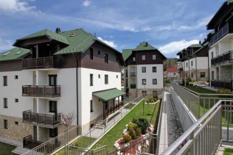 "Apartment-Komplex ""Zlatiborski Konaci"" Zlatibor – Serbien"